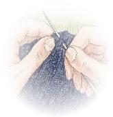 hand finishing-orignal blues